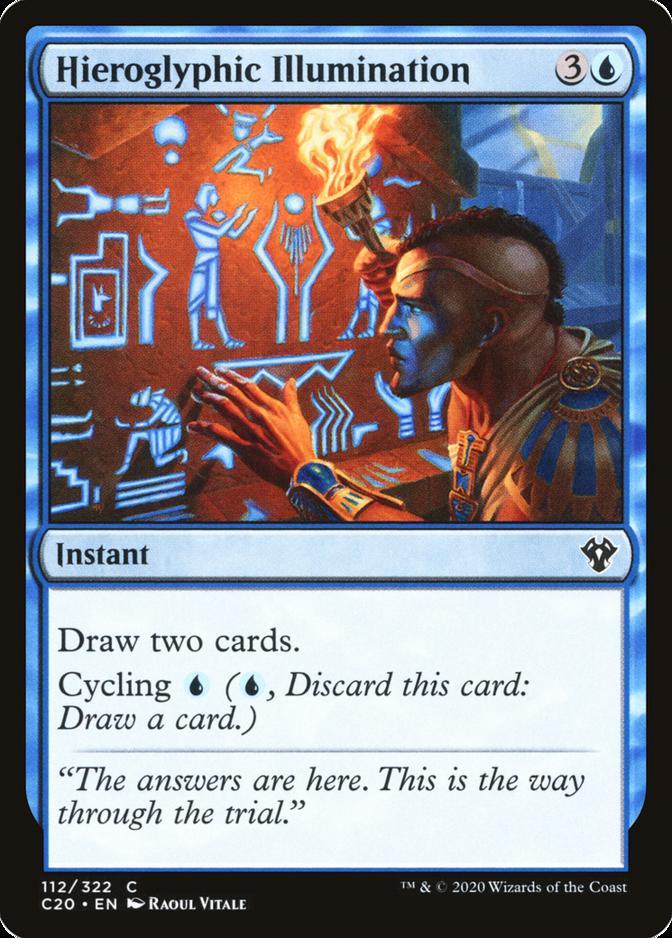 Hieroglyphic Illumination [C20]