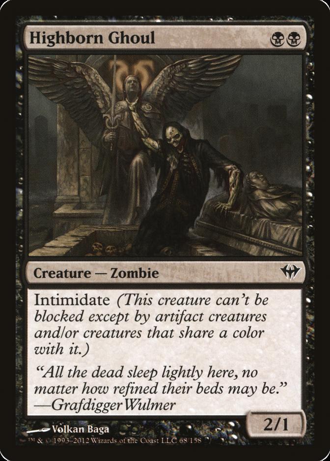 Highborn Ghoul [DKA] (F)