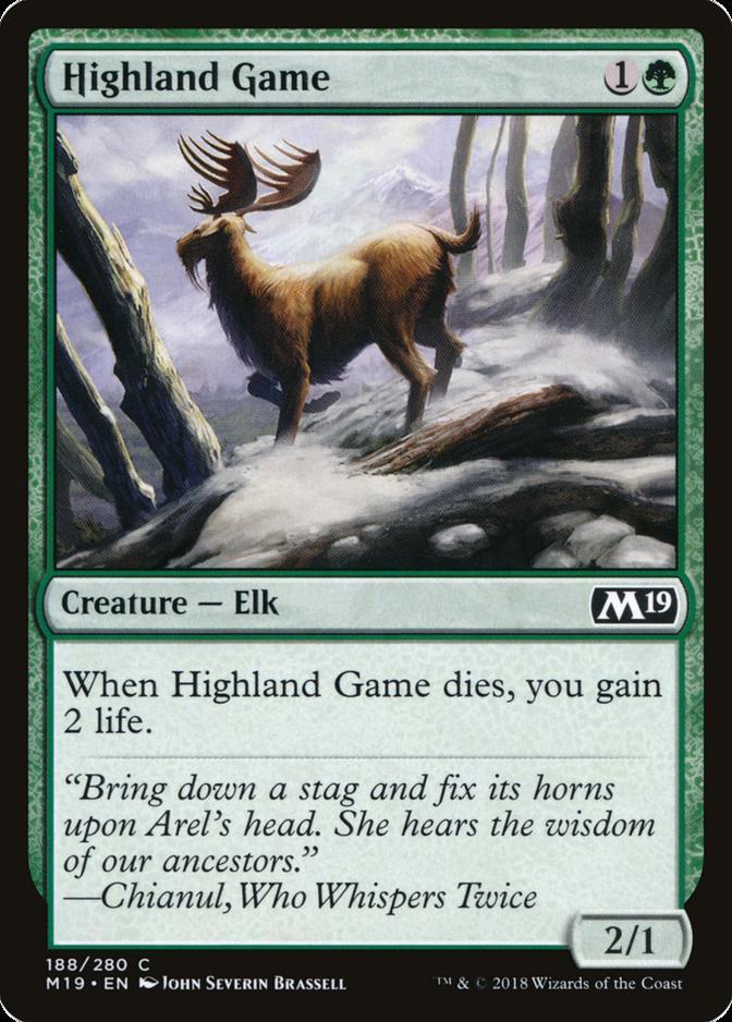Highland Game [M19] (F)