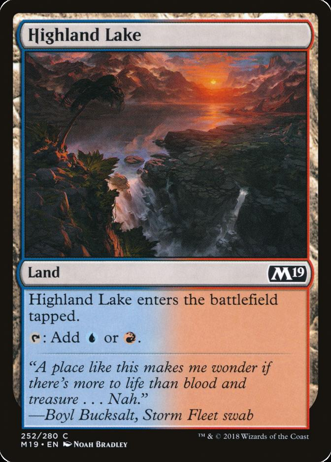 Highland Lake [M19]
