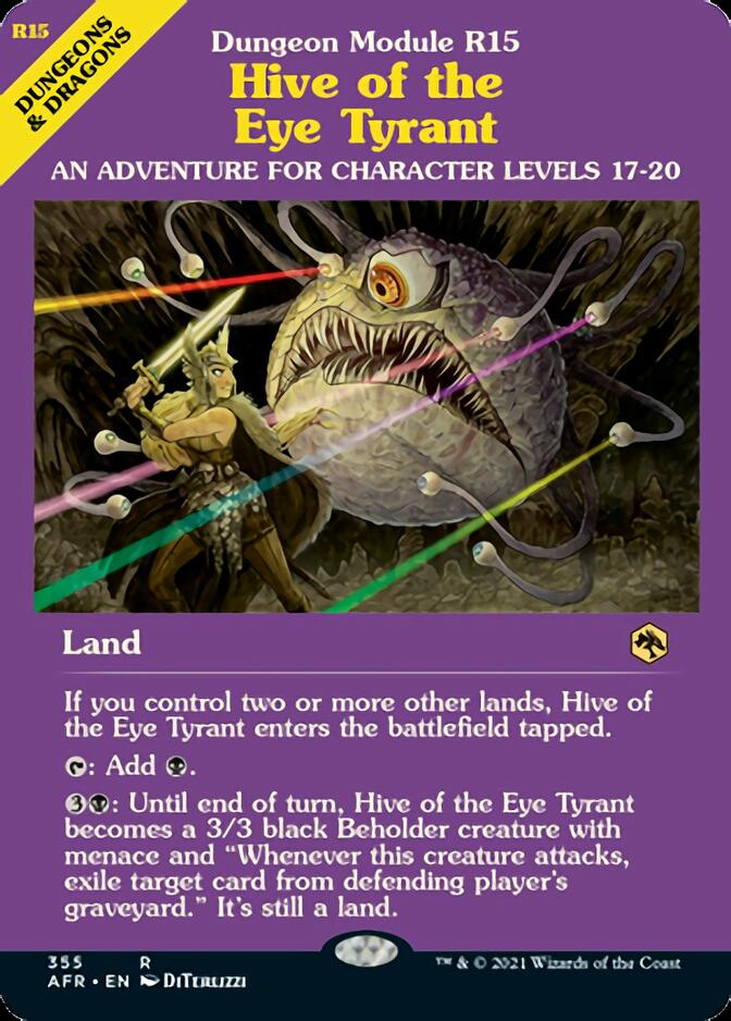 Hive of the Eye Tyrant <classic module> [AFR]