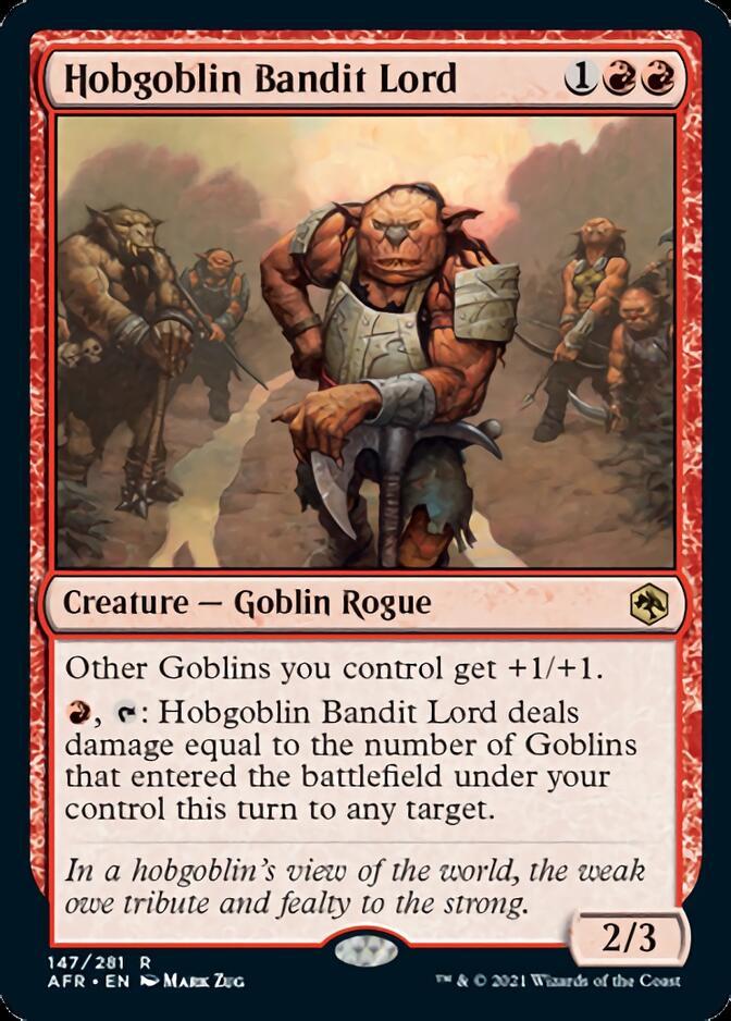 Hobgoblin Bandit Lord [AFR]