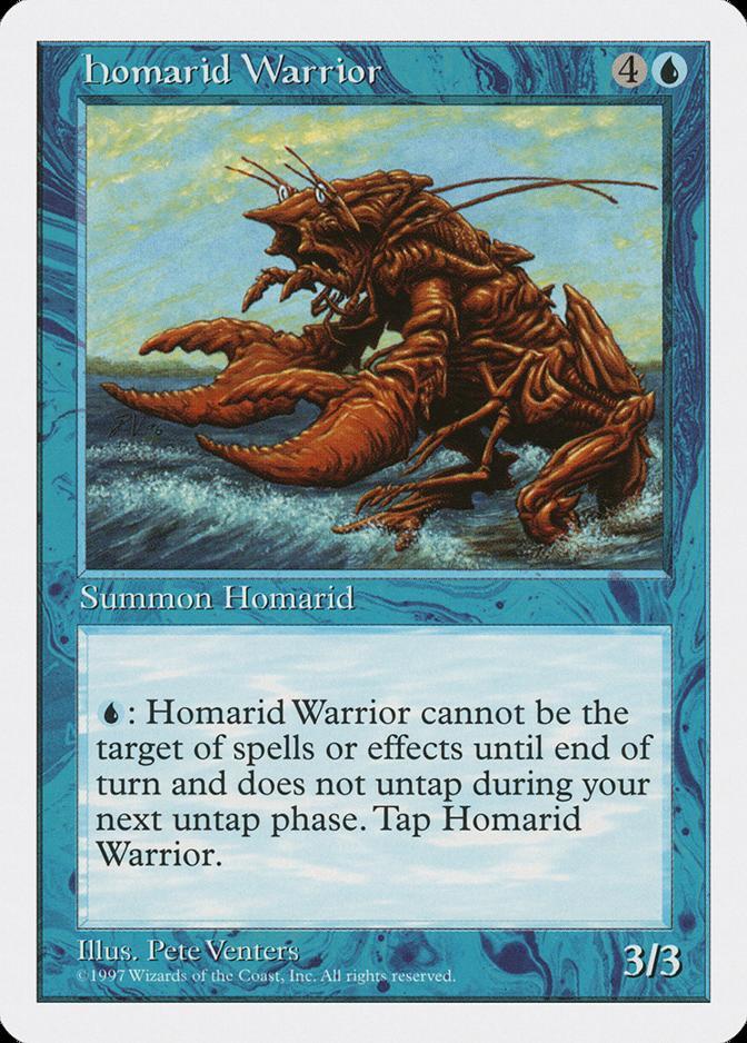 Homarid Warrior [5ED]