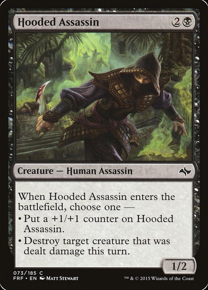Hooded Assassin [FRF]