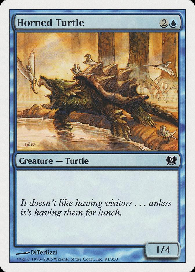 Horned Turtle [9ED]