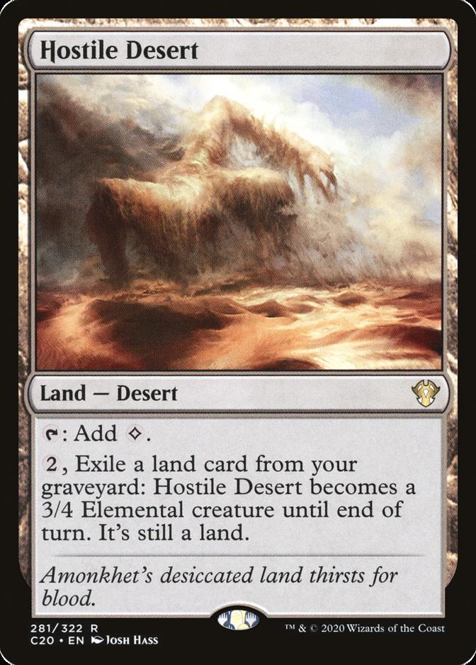 Hostile Desert [C20]