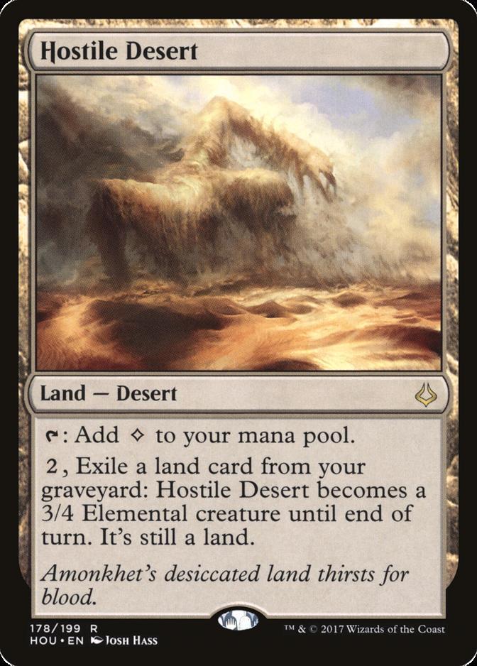 Hostile Desert [HOU] (F)