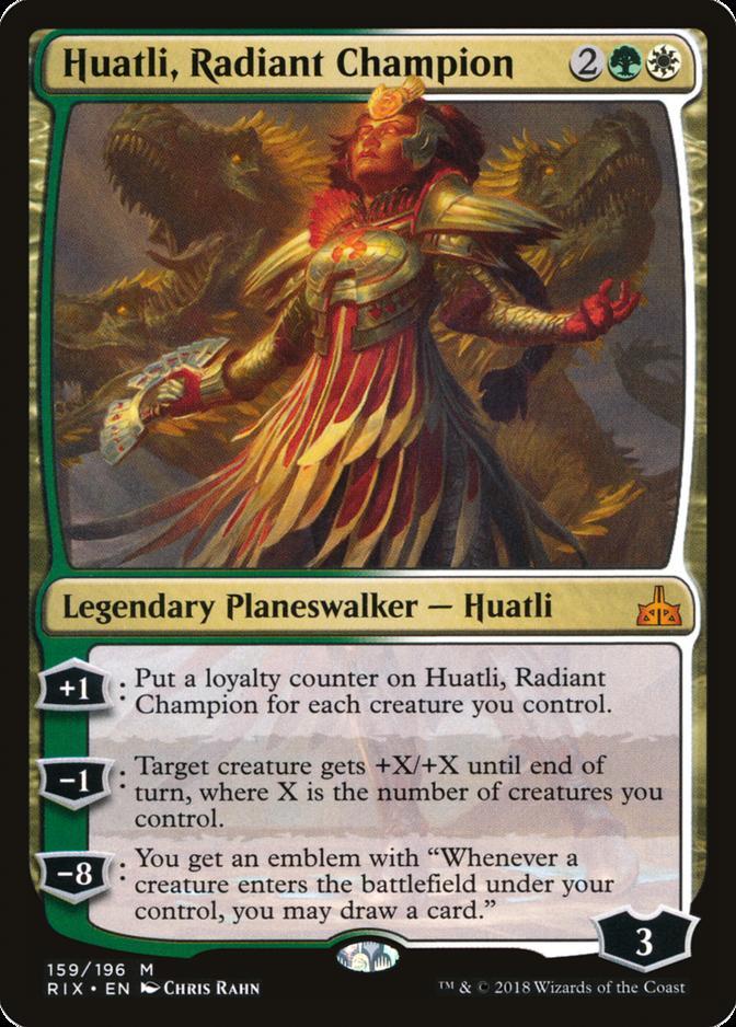 Huatli, Radiant Champion [RIX]