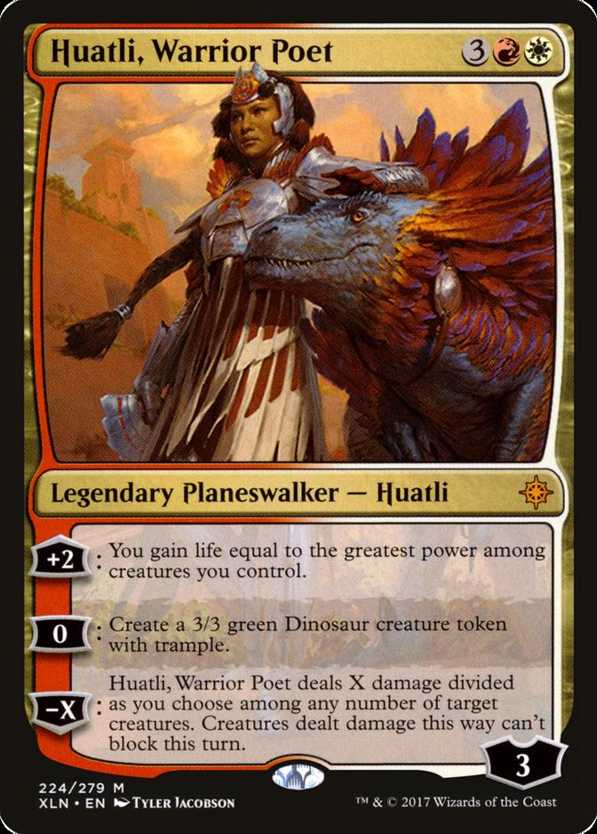 Huatli, Warrior Poet [XLN]