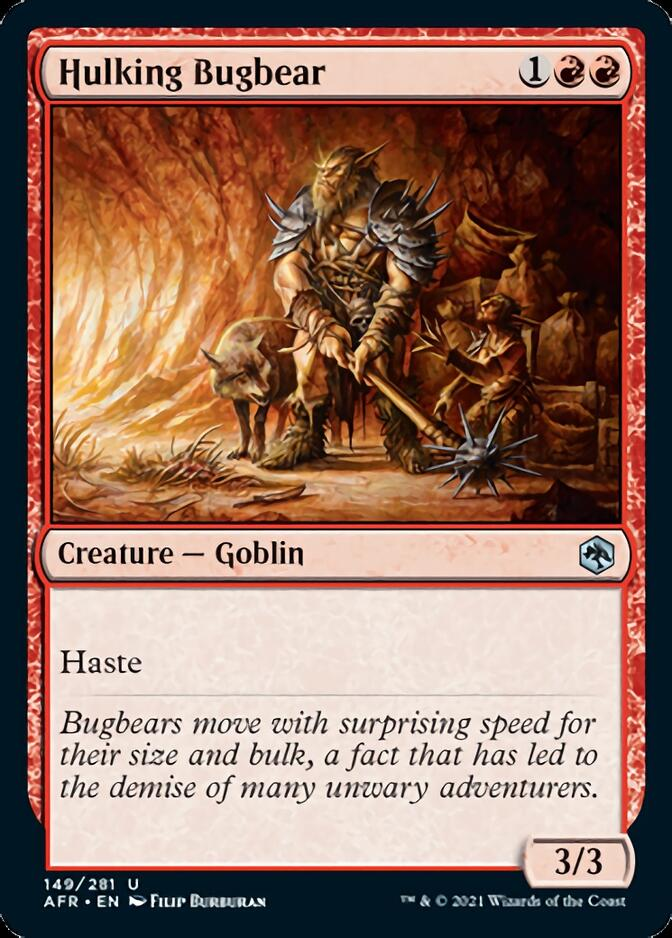 Hulking Bugbear [AFR]