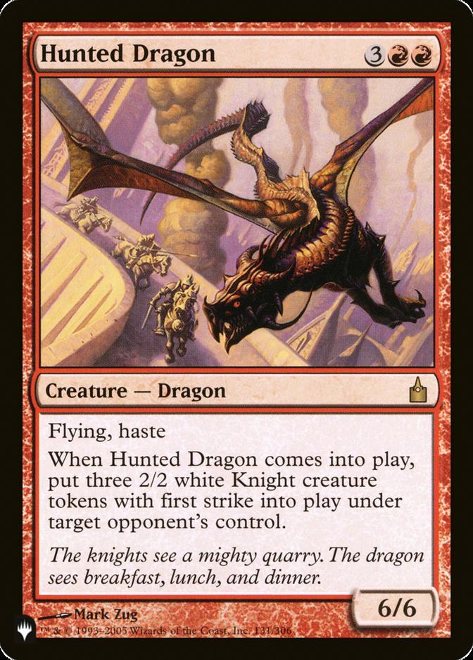 Hunted Dragon [PLIST]