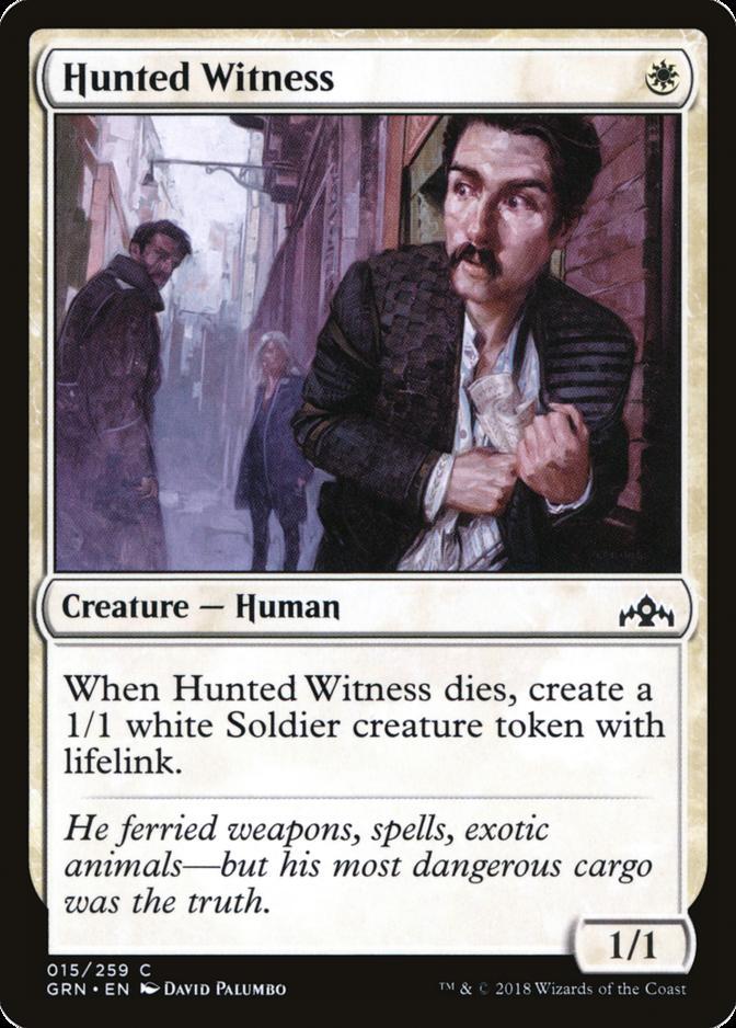 Hunted Witness [GRN]