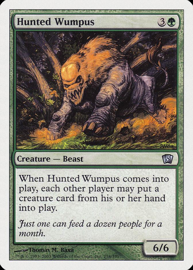 Hunted Wumpus [8ED]
