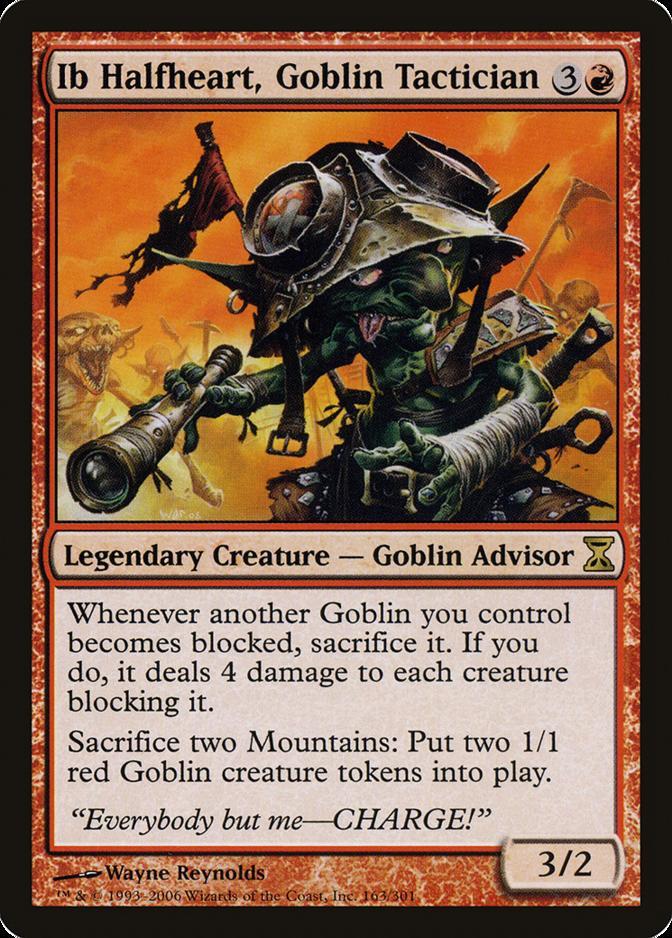 Ib Halfheart, Goblin Tactician [TSP]