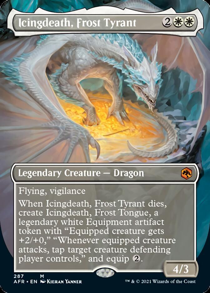 Icingdeath, Frost Tyrant <borderless> [AFR]