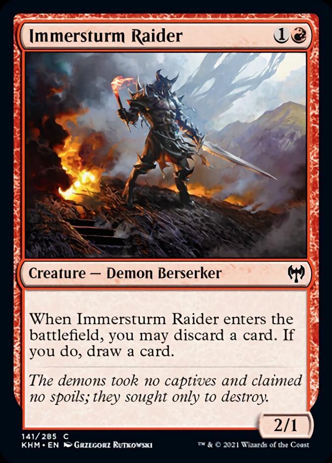 Immersturm Raider [KHM]