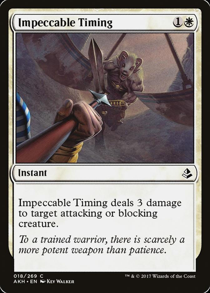 Impeccable Timing [AKH]