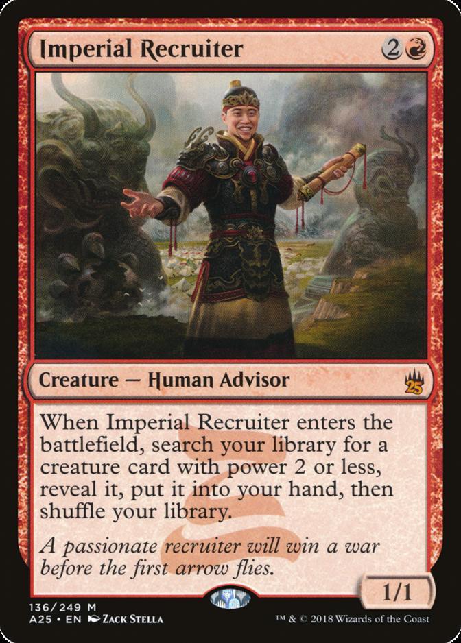 Imperial Recruiter [A25]