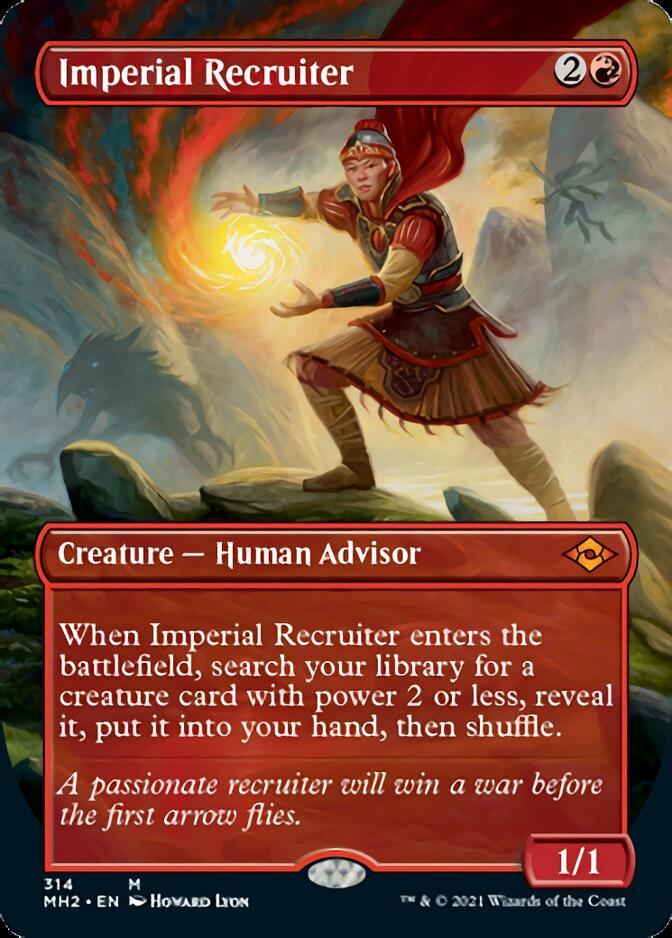 Imperial Recruiter <borderless> [MH2]