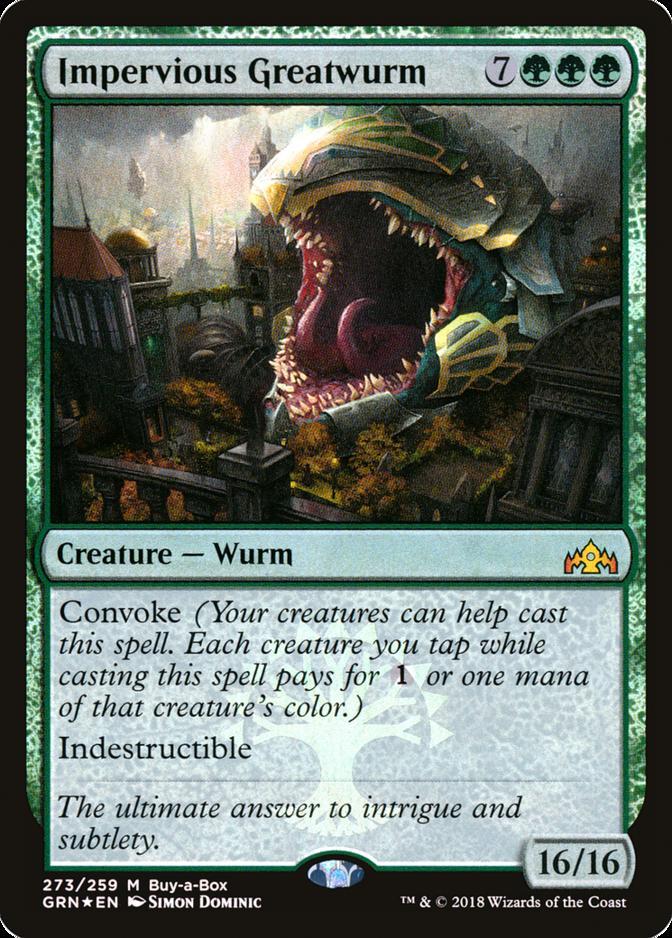 Impervious Greatwurm [GRN]