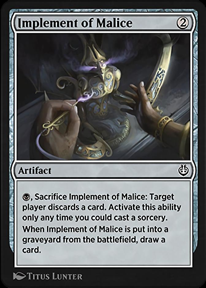 Implement of Malice [KLR]