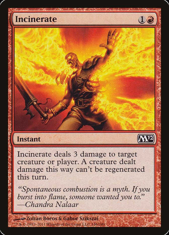 Incinerate [M12]