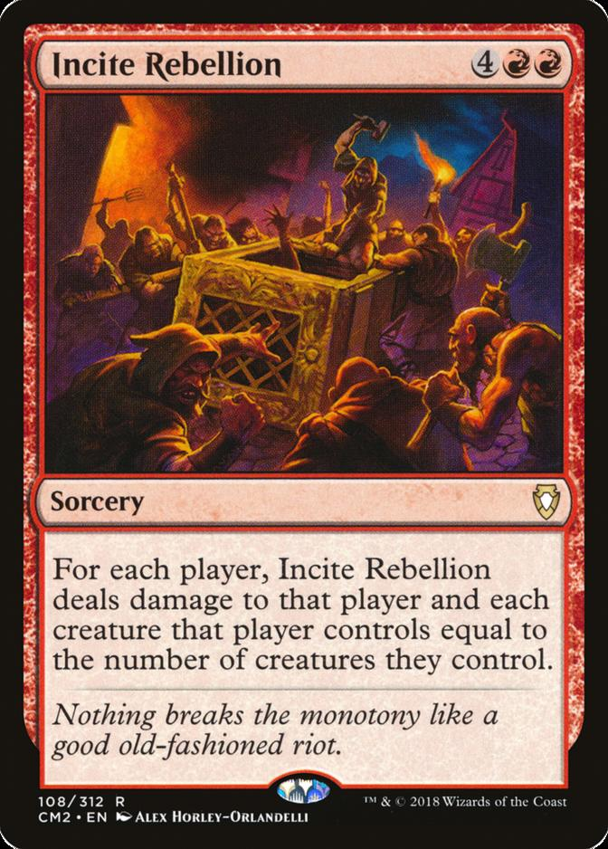 Incite Rebellion [CM2]