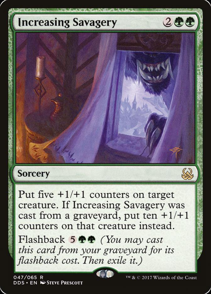 Increasing Savagery [DDS]
