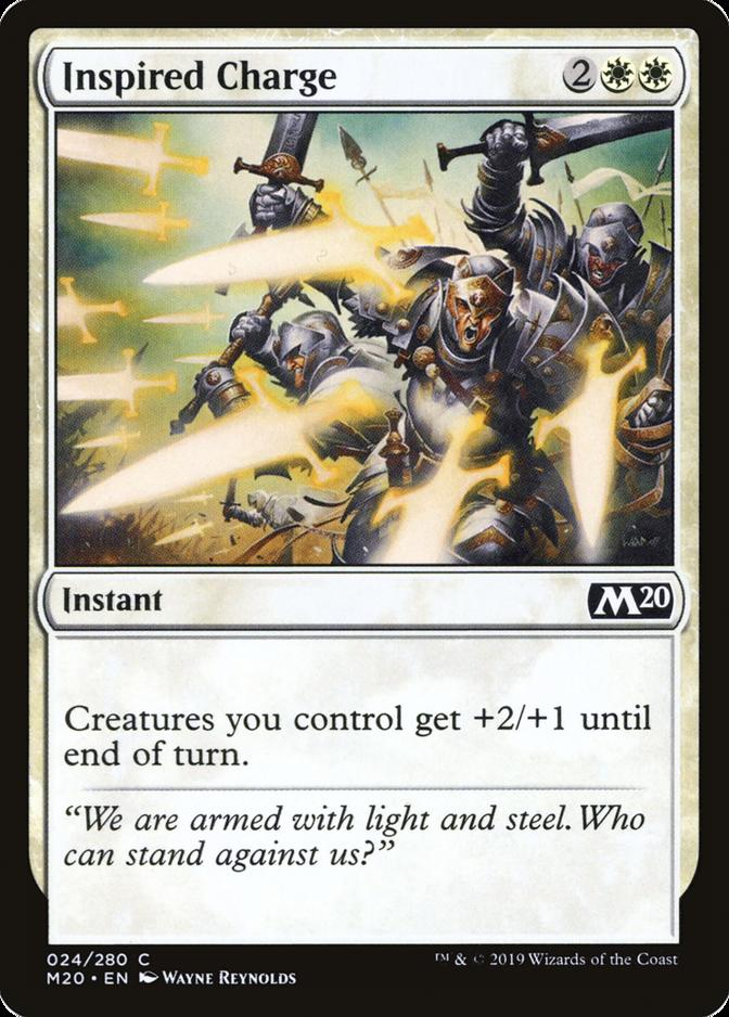 Inspired Charge [M20]
