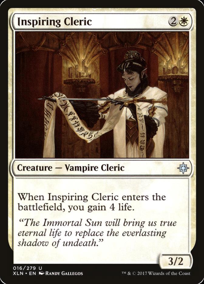 Inspiring Cleric [XLN]