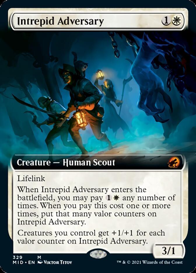 Intrepid Adversary <extended> [MID]