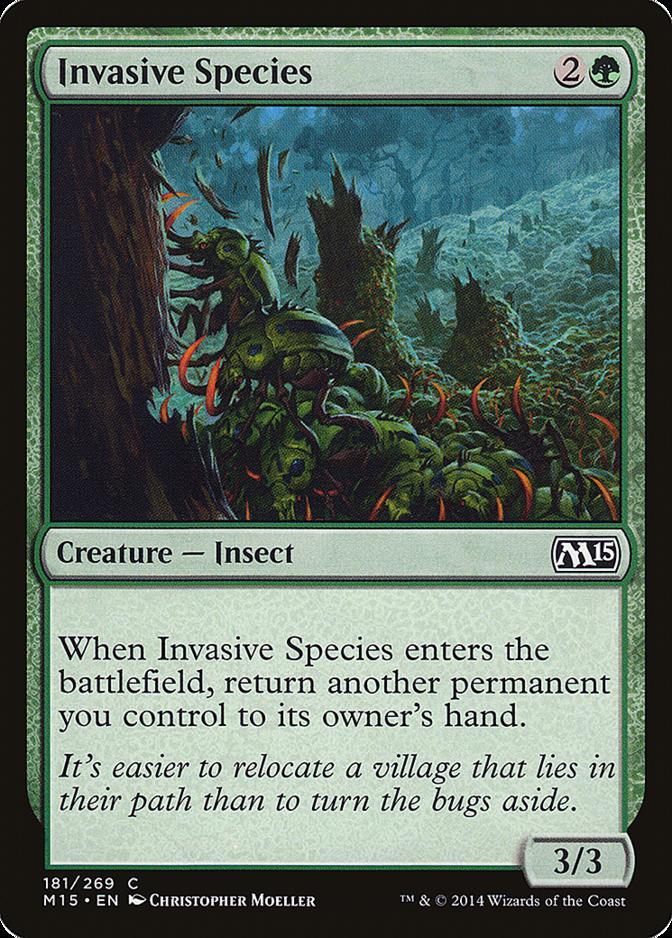 Invasive Species [M15]
