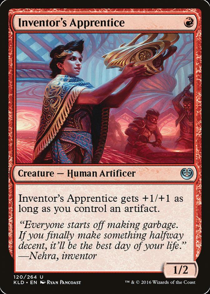 Inventor's Apprentice [KLD]