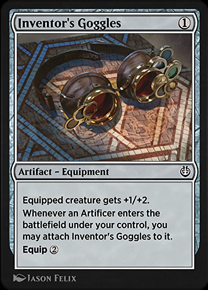 Inventor's Goggles [KLR]