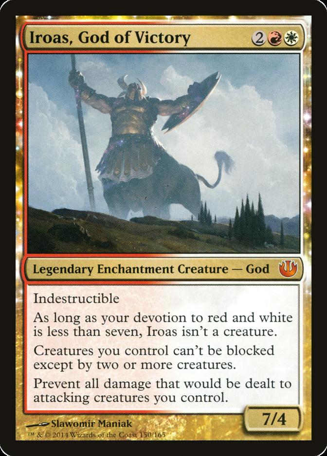 Iroas, God of Victory [JOU]