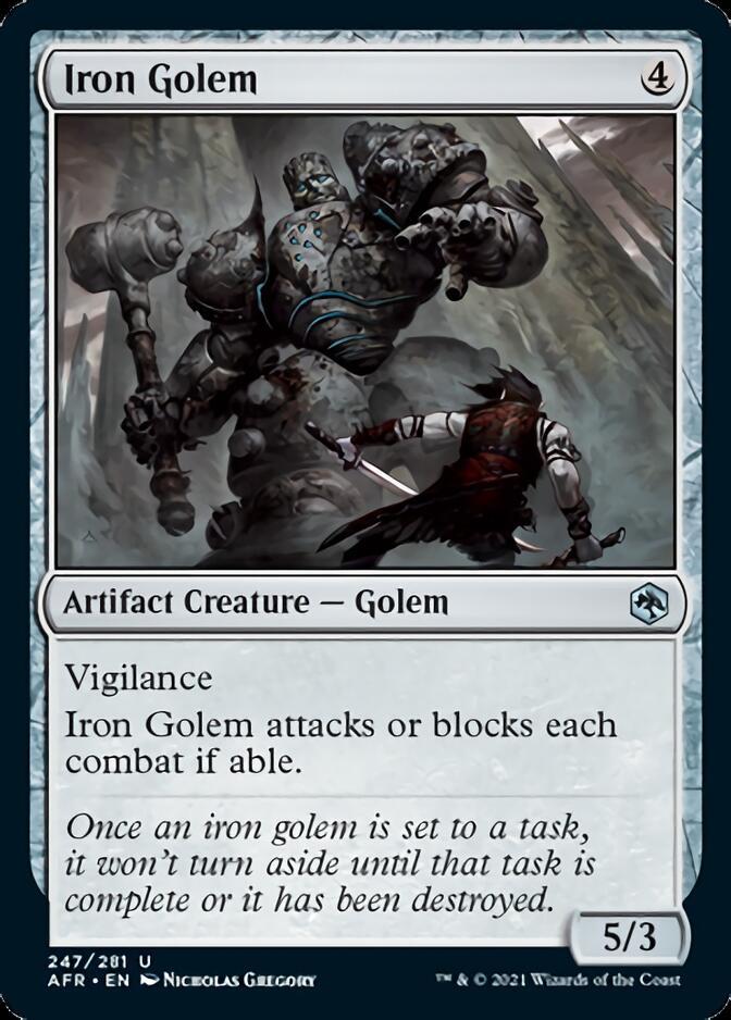Iron Golem [AFR]