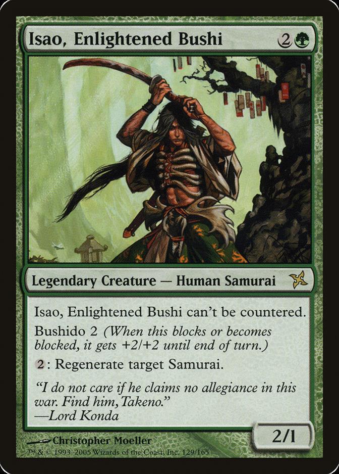 Isao, Enlightened Bushi [BOK]