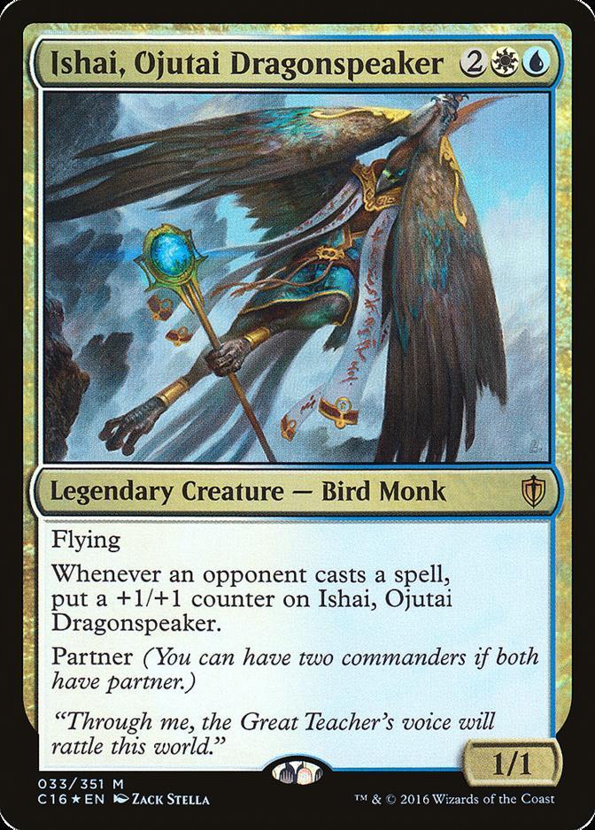 Ishai, Ojutai Dragonspeaker [C16] (F)