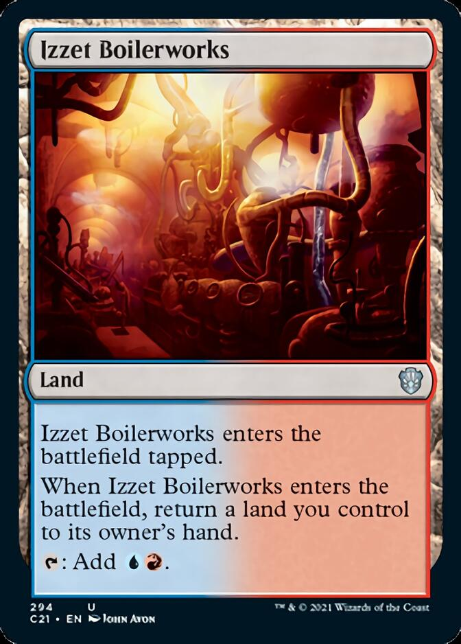 Izzet Boilerworks [C21]