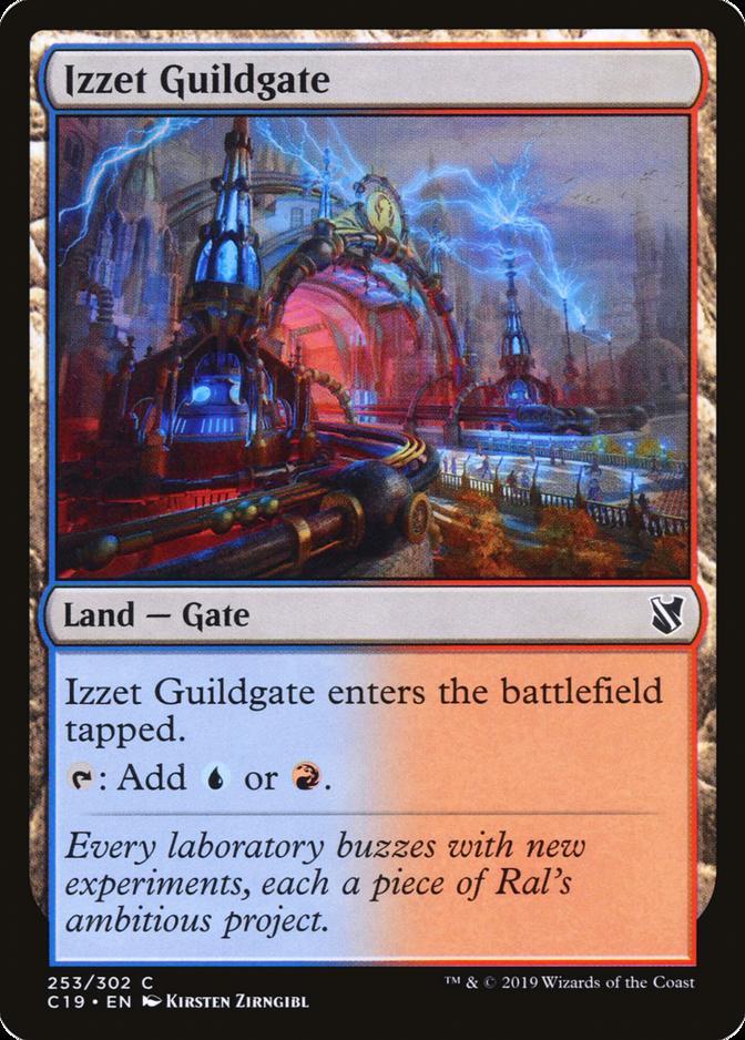 Izzet Guildgate [C19]