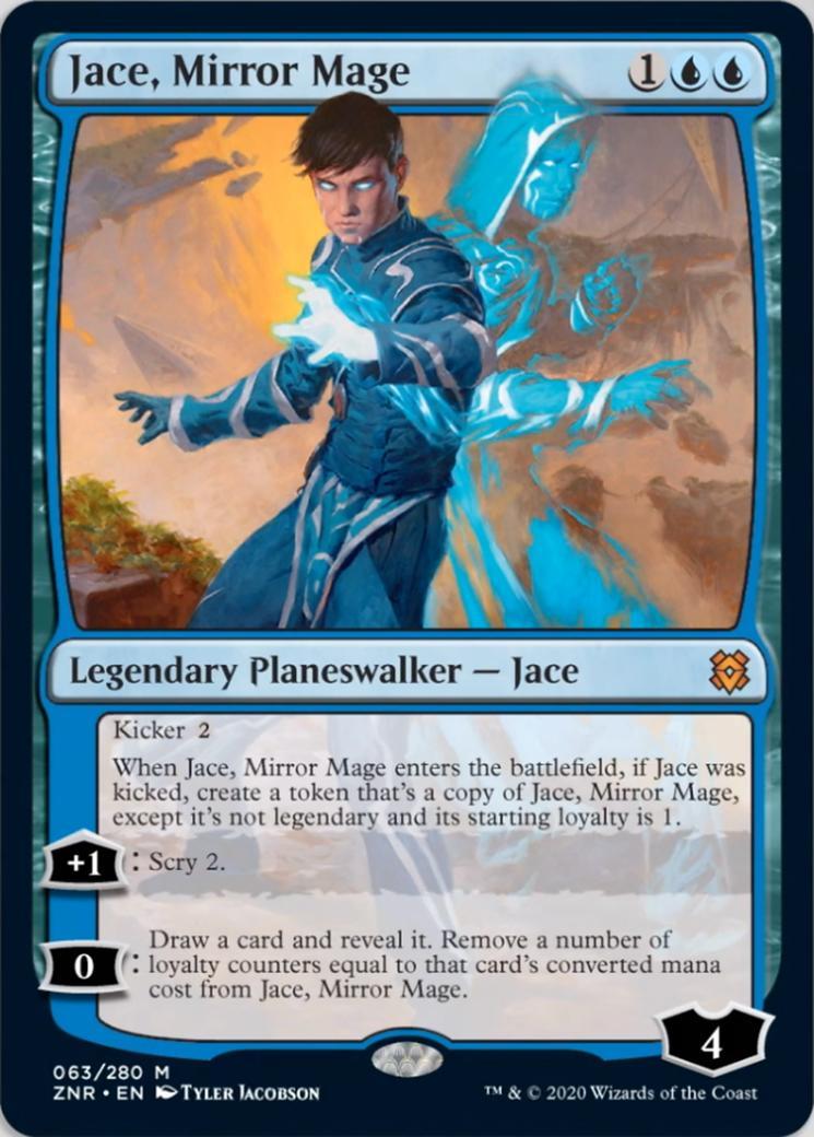 Jace, Mirror Mage [ZNR]