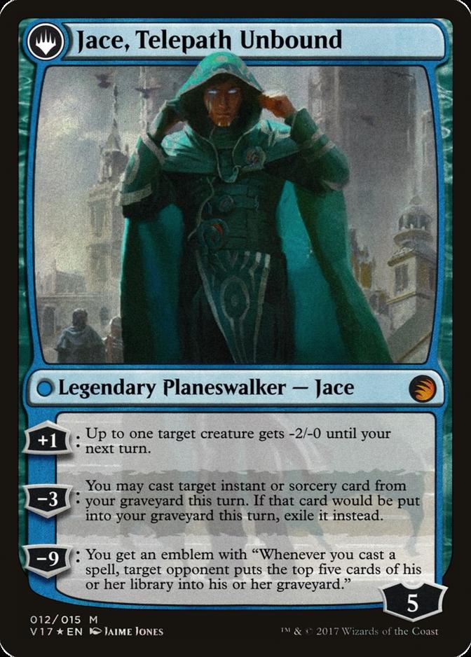 Jace, Telepath Unbound [V17]