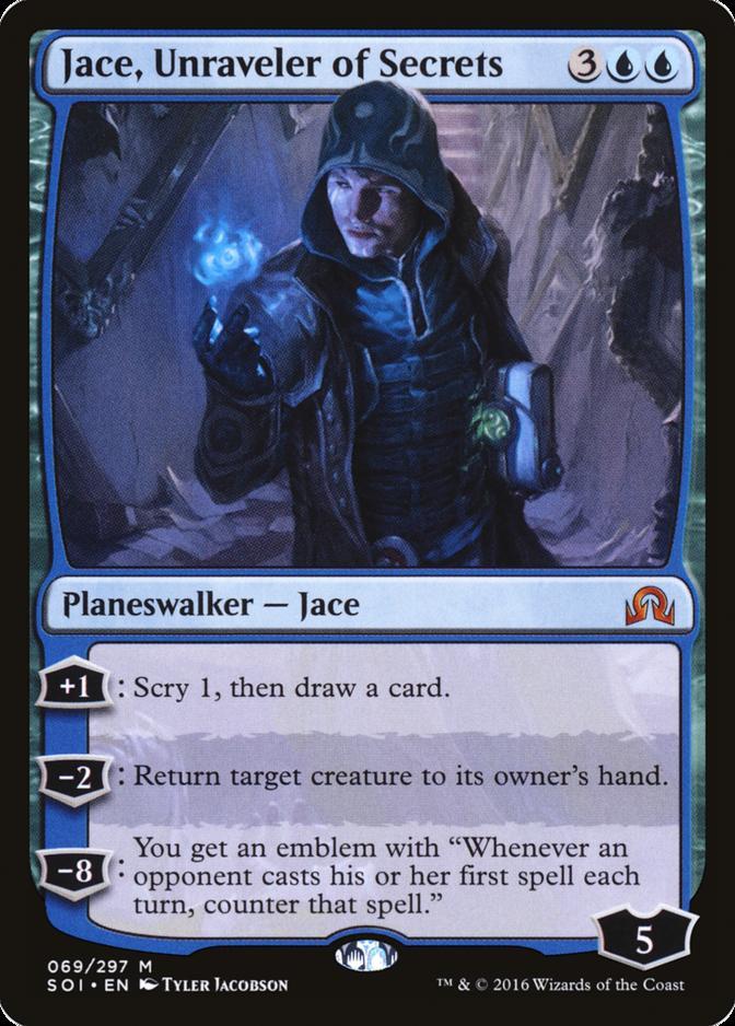 Jace, Unraveler of Secrets [SOI]