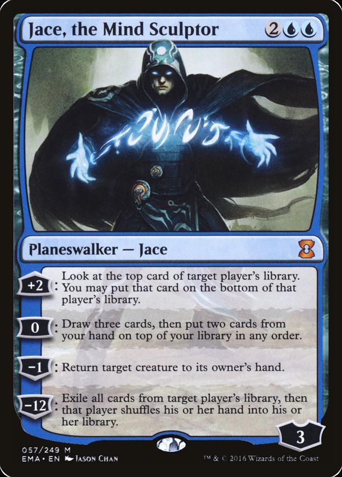 Jace, the Mind Sculptor [EMA] (F)