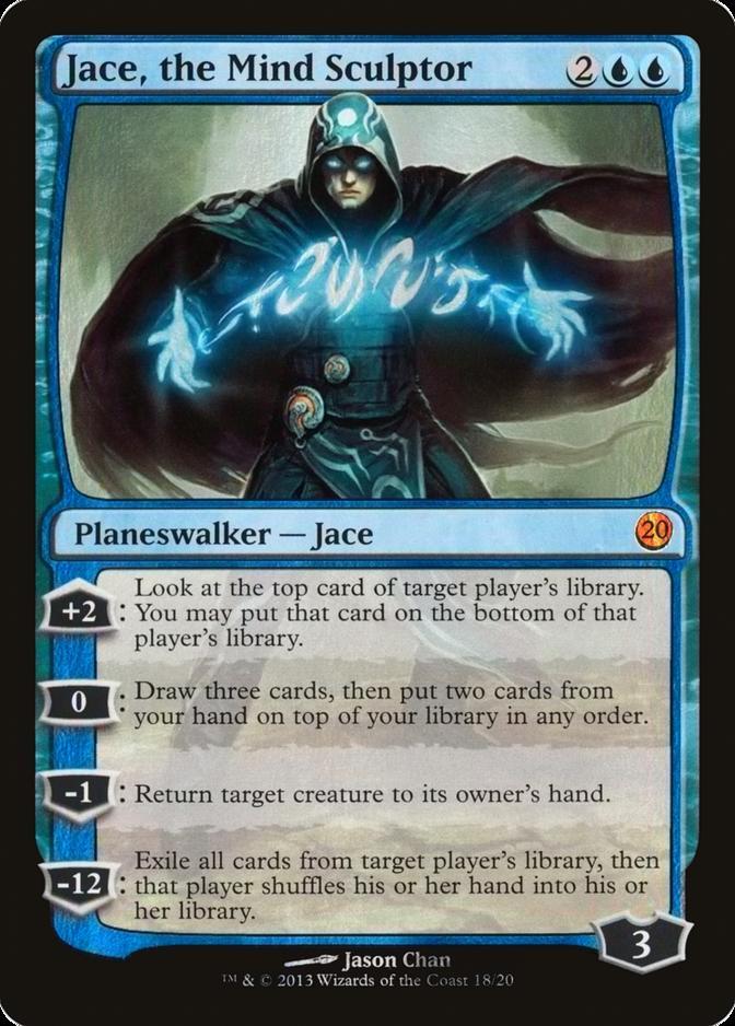 Jace, the Mind Sculptor [V13] (F)