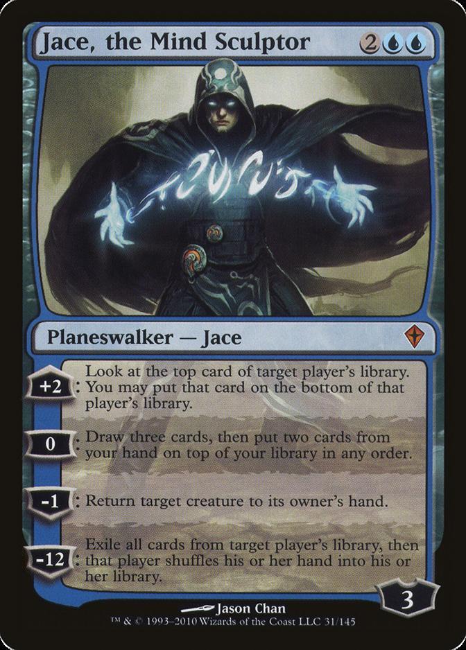 Jace, the Mind Sculptor [WWK] (F)