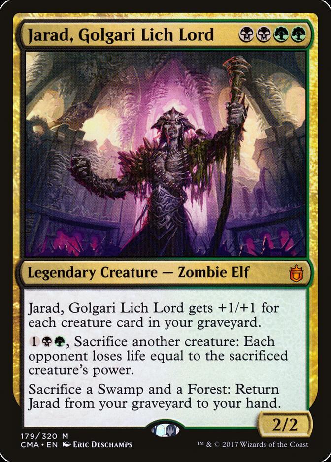 Jarad, Golgari Lich Lord [CMA]
