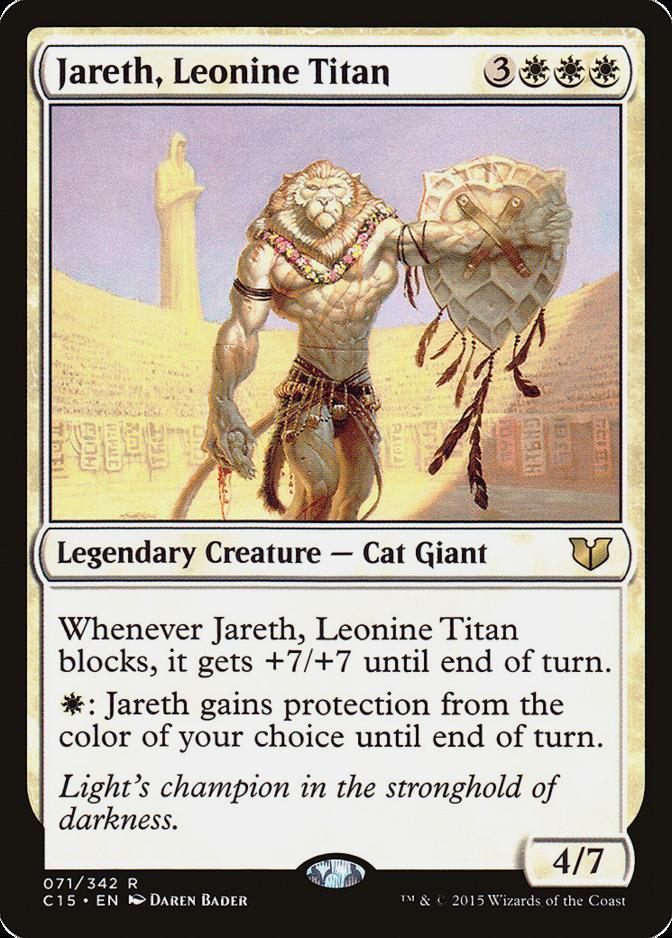 Jareth, Leonine Titan [C15]