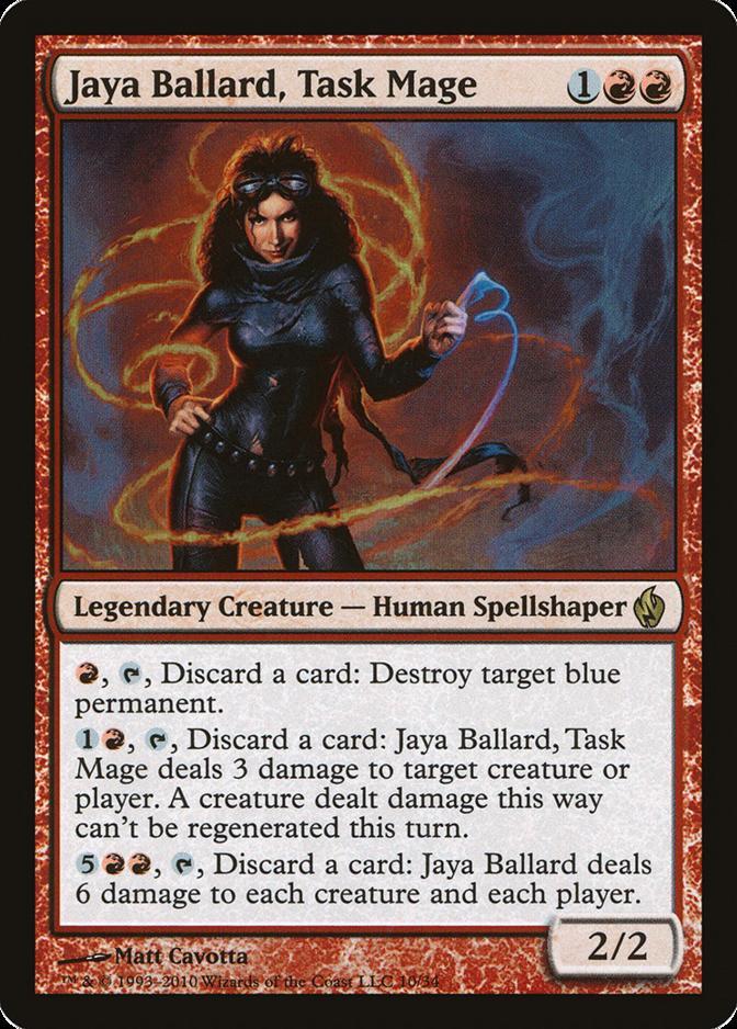 Jaya Ballard, Task Mage [PD2] (F)