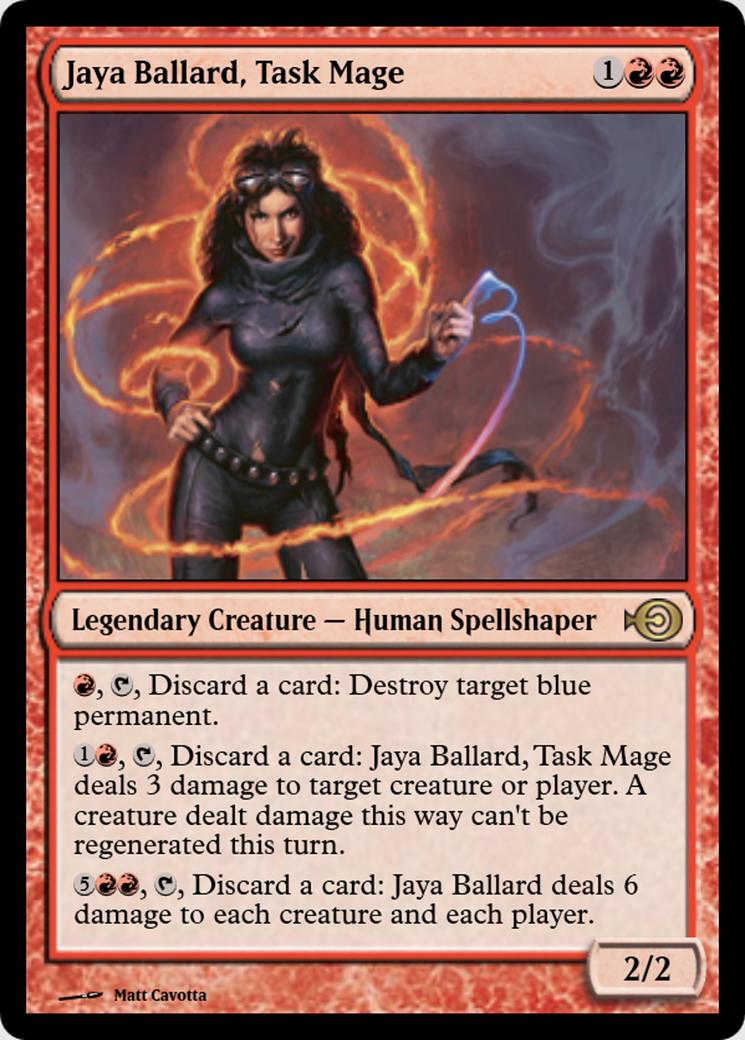 Jaya Ballard, Task Mage [PRM] (F)